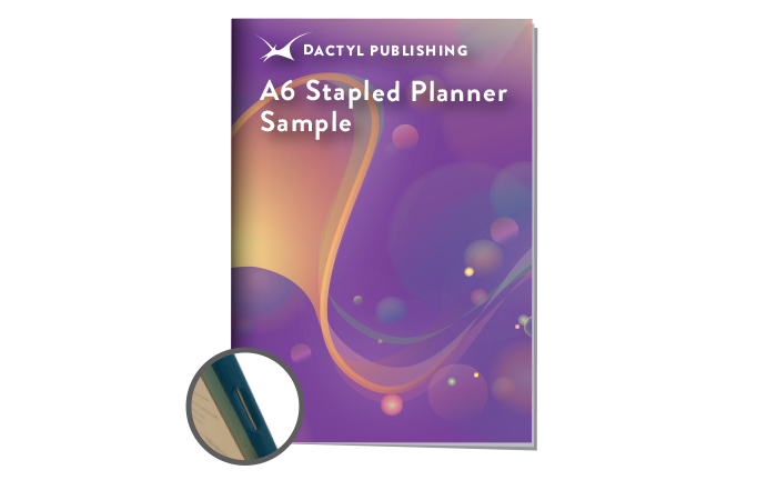Stapled Student Planners