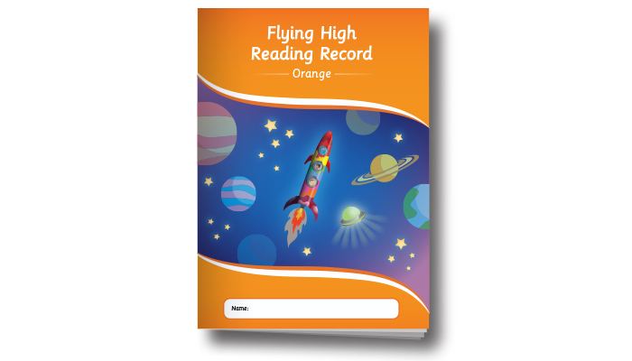 Flying High Reading Record Orange