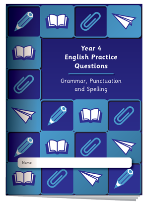 Year 4 English Practice Questions