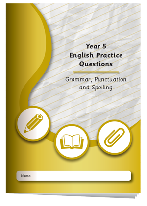 Year 5 English Practice Questions