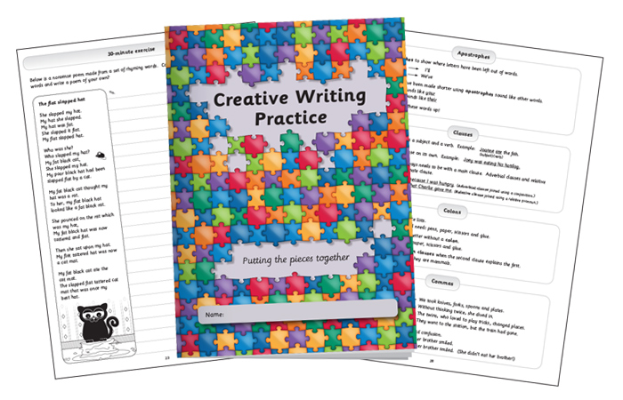Creative Writing Practice Book