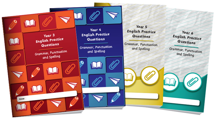 English Practice Question Books