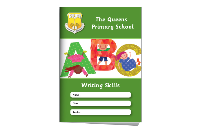 Primary Exercise Book Cover 2