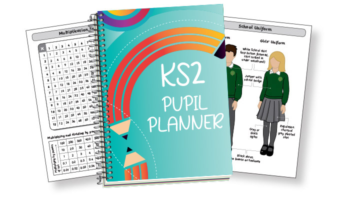Primary Student Planners